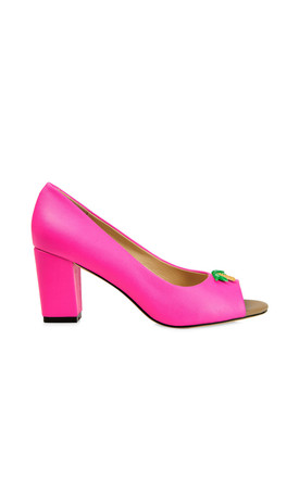 Westbourne Fuscia High Heels by Yull Shoes