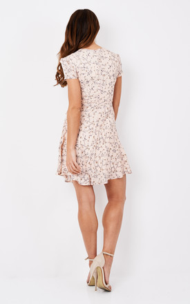 Blush Ditsy Floral A-Line Dress by Glamorous