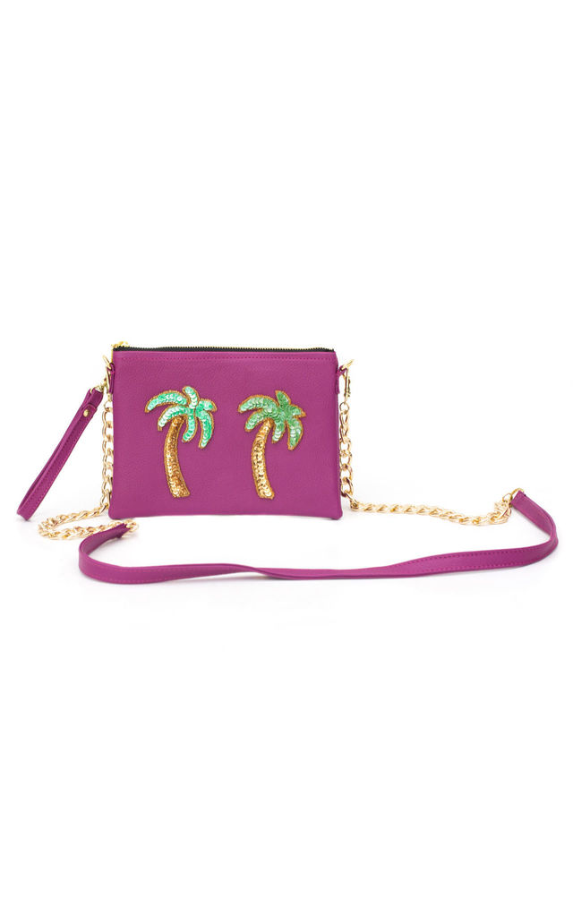 Tulum Pink Palmera Bag by Tea & Tequila