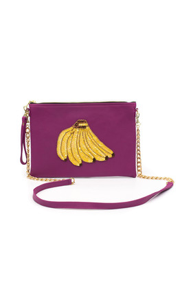 Colima Pink Banana Bunch Bag by Tea & Tequila