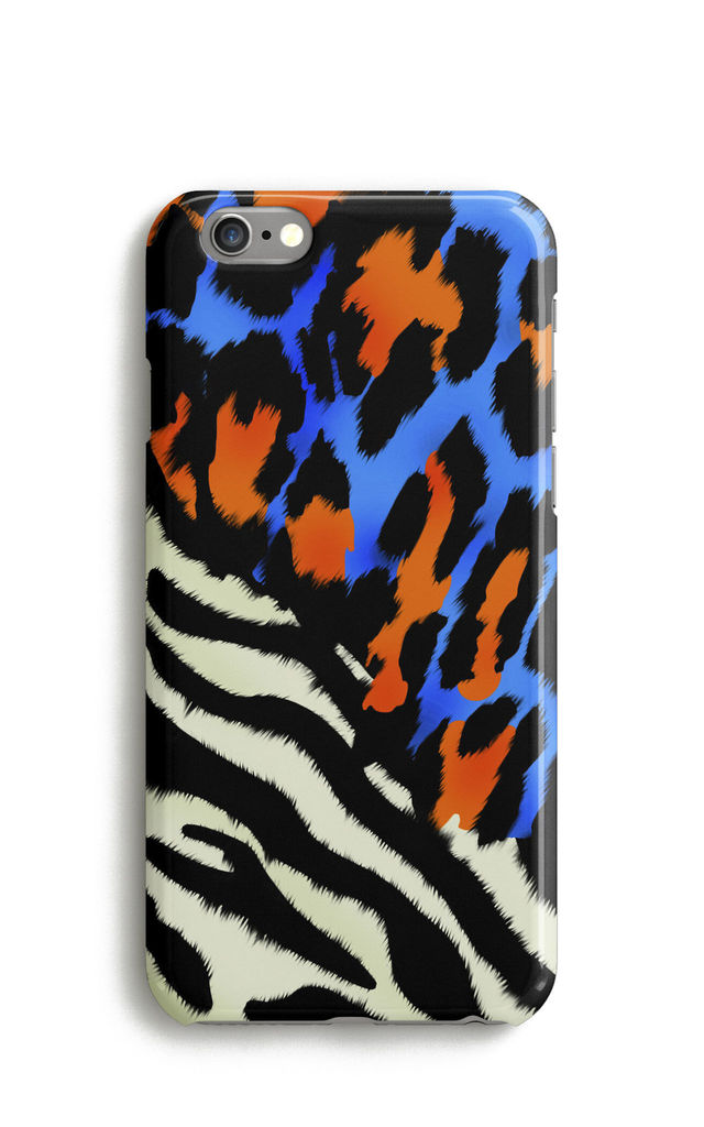 Zebra and Panther Phone Case by Harper & Blake
