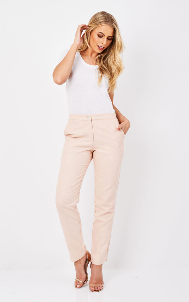 Celina Trouser in Pink by TwentyFour Fashion