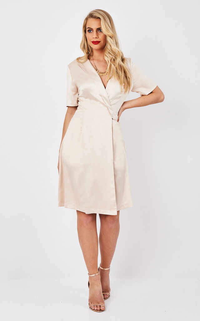 Cora Wrap Dress by TwentyFour Fashion