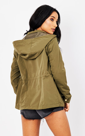 Khaki Parka Jacket by VM