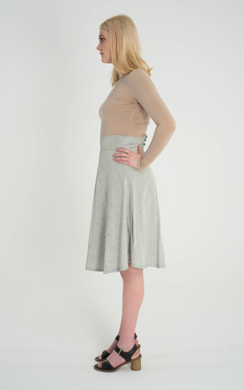 Sage - Fit Flare Skirt by Madia & Matilda