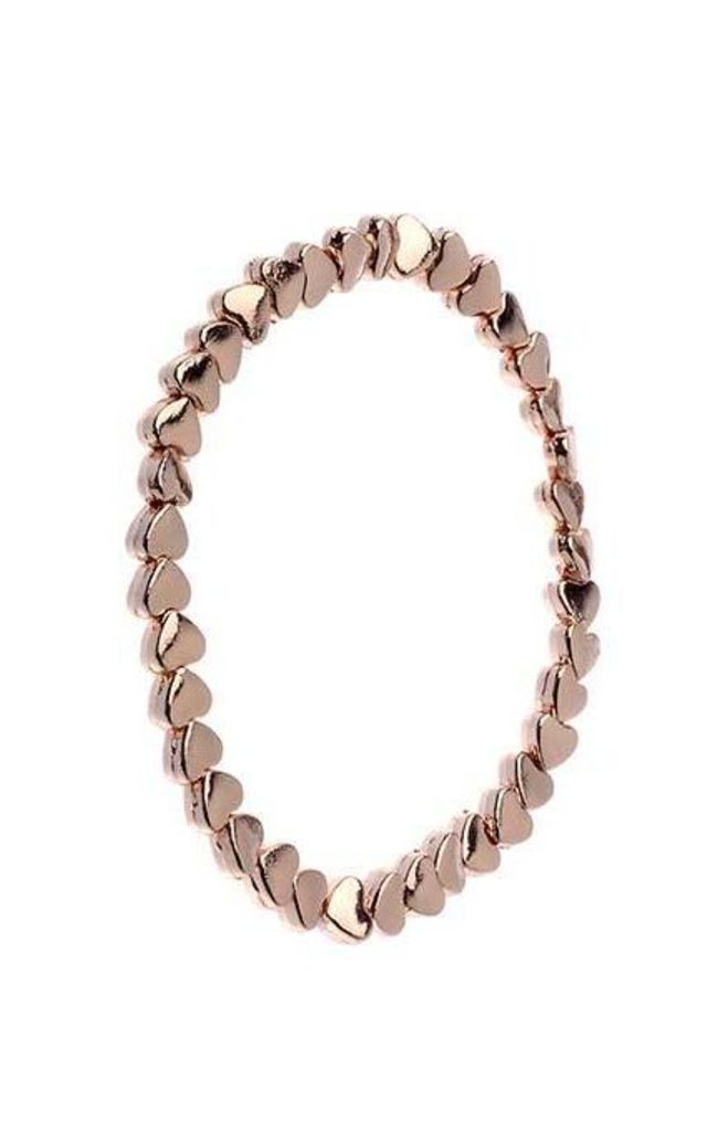 Rose gold heart bracelet by Nautical and Nice Ltd
