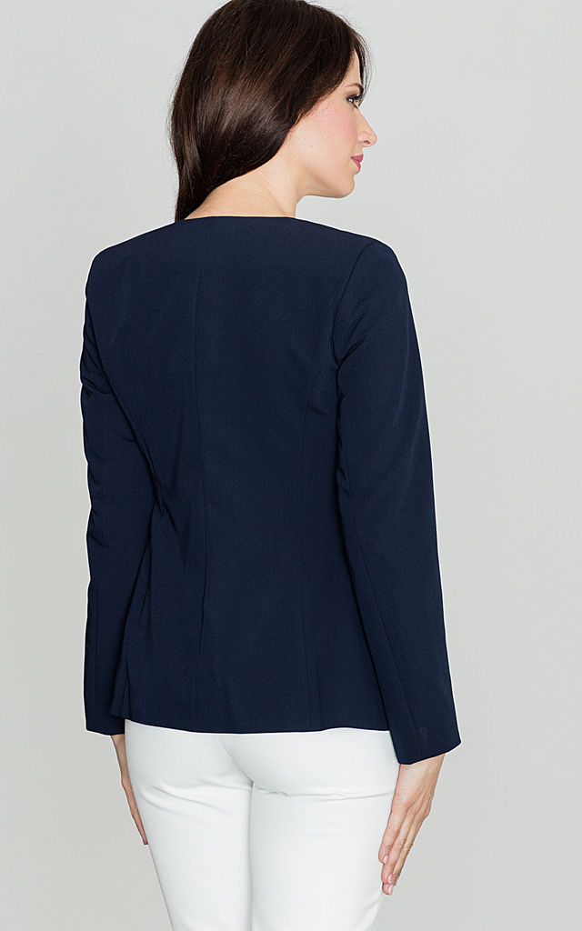 Find womens navy blue blazer fitted at ShopStyle. Shop the latest collection of womens navy blue blazer fitted from the most popular stores - all in.