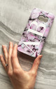 Pastel marble monogram phone case by Rianna Phillips