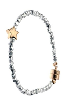 Gold Star bracelet by Nautical and Nice Ltd