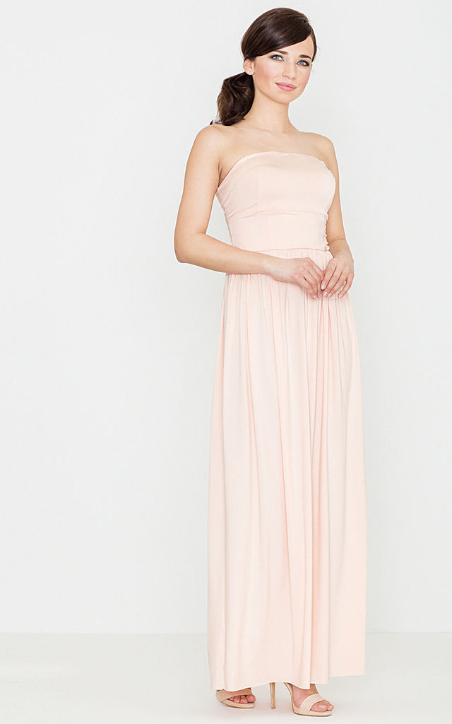Pink Maxi Dress by LENITIF