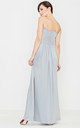 Grey Maxi Dress by LENITIF
