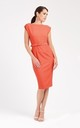 Coral Summer Midi Dress by Zoe Vine