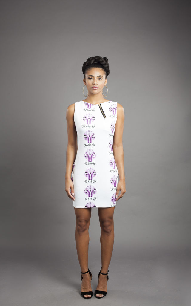 The Wake-Up Bodycon Dress by Alicia Mullings