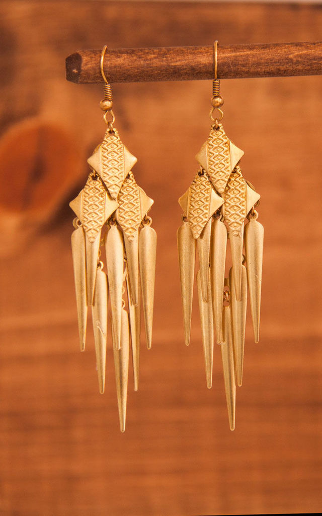 Charan earrings by Leo With Love