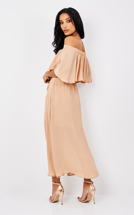 TOUCH THE SUN MIDI DRESS by Somedays Lovin