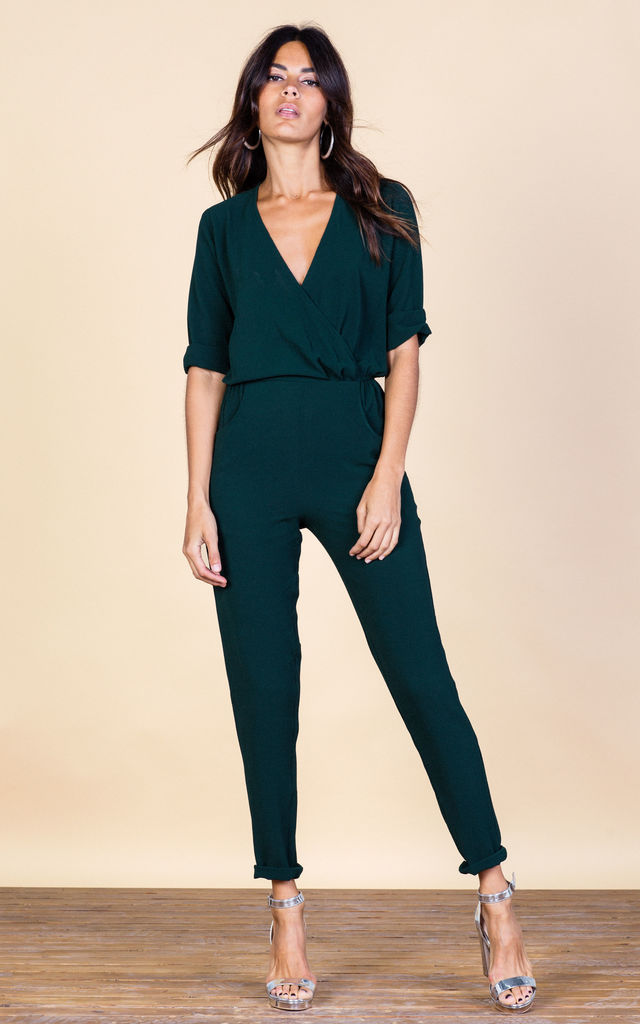 Zion Jumpsuit in Forest Green image