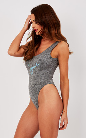 Vegas Grey Swimsuit by Pool Party