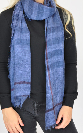 PLAIN WOVEN SCARF by GOLDKID LONDON
