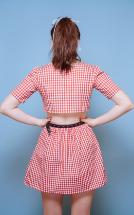 Red Gingham Co-ord Set by Vintage Style Me