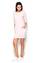 Light Pink Sporty Dress with Pockets by KATRUS