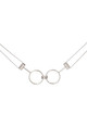 Forever Linked Choker White Gold by DOSE of ROSE