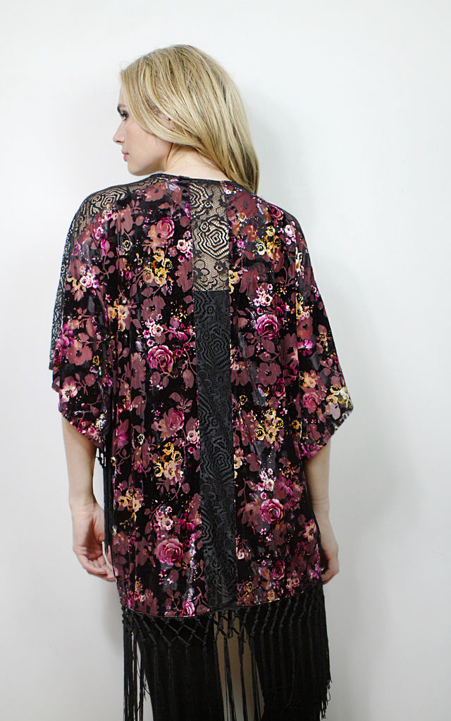 Womens Summer festival jacket kimono one size by Spiritual Hippie