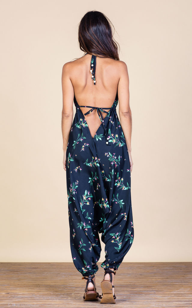 Genie Jumpsuit in Midnight Paradise image