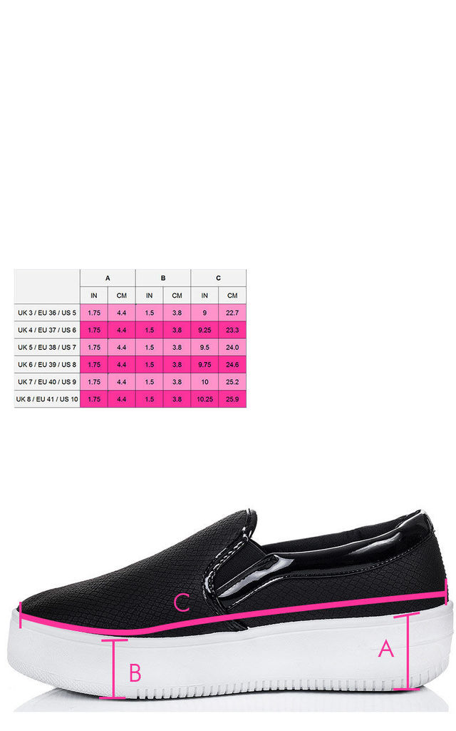 RASPBERRY Platform Croc Print Flat Loafer Shoes - Black White Leather Style by SpyLoveBuy