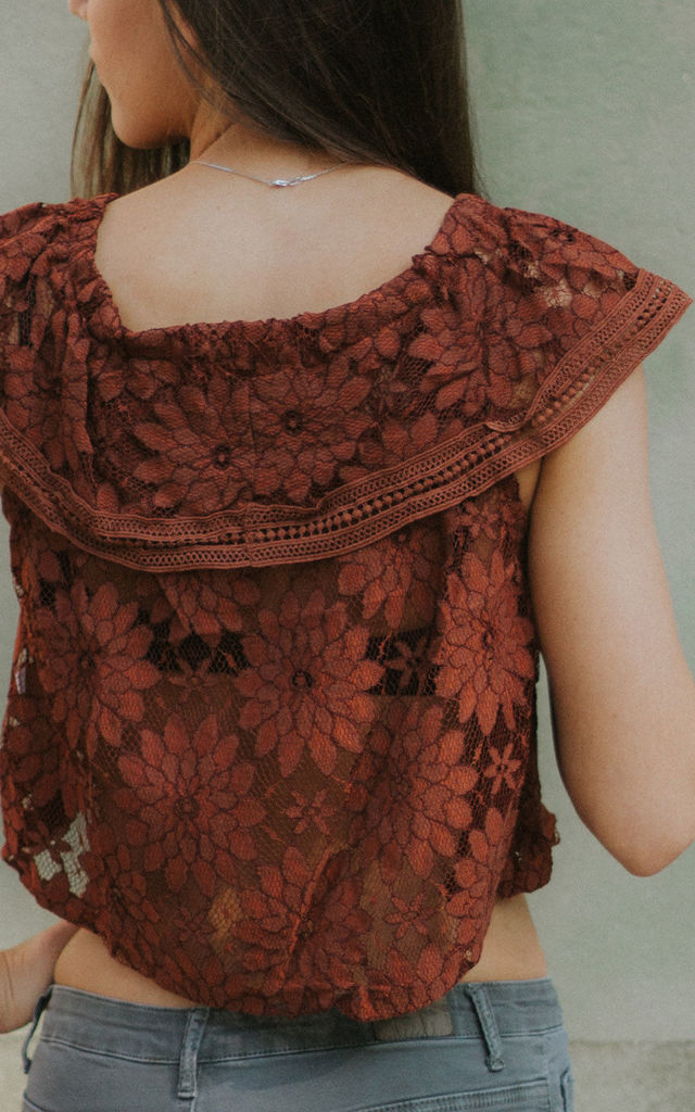Boho Lace Crop Top by Artemisia