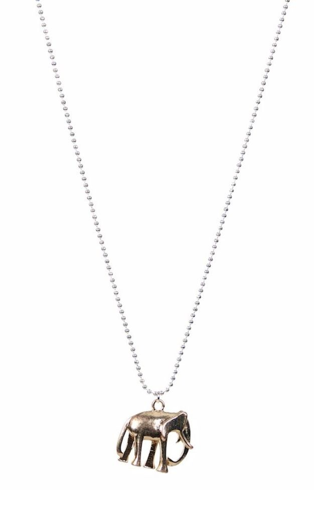 OLIA JEWELLERY Kendall Long necklace silver/gold by Olia Jewellery