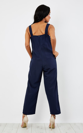 Relaxed Romper Jumpsuit Blue by likemary