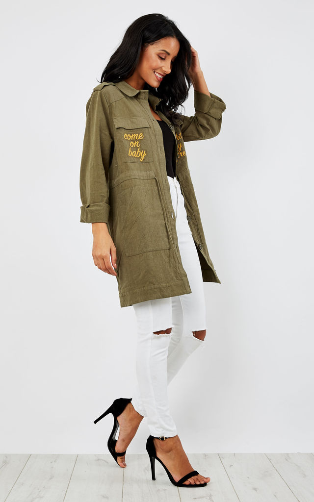 LITTLE LAKE KHAKI ANORAK by Somedays Lovin
