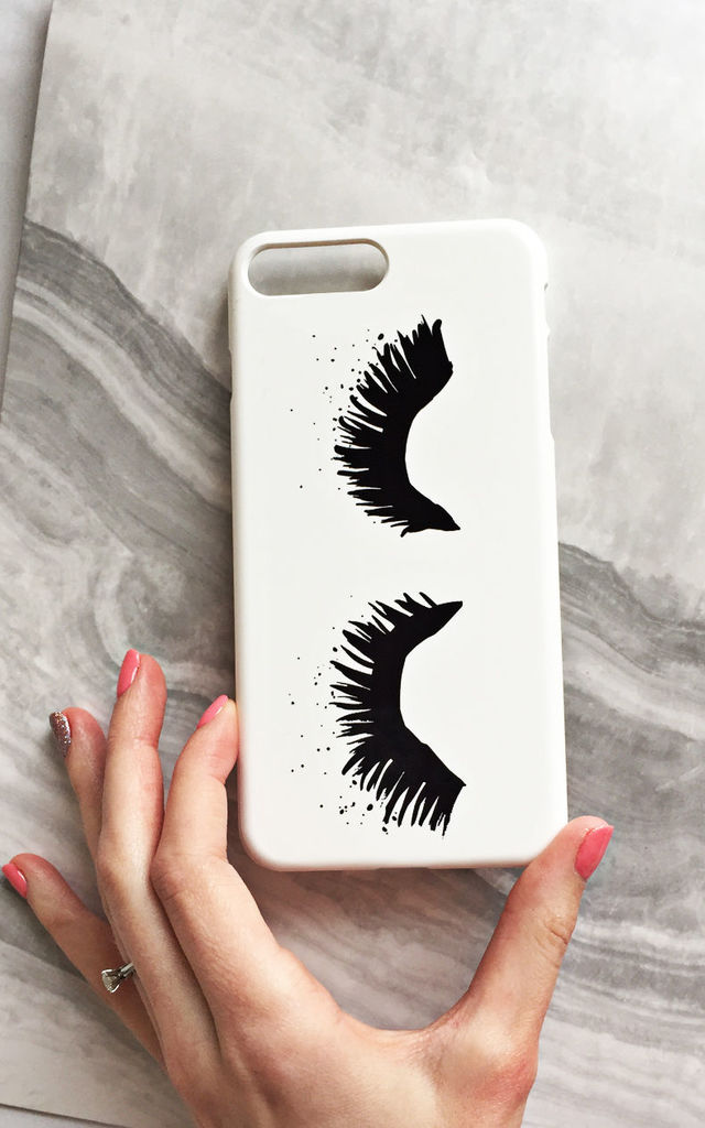 Upper East Eyelash phone case by Rianna Phillips