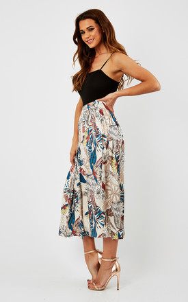 Floral Print Mdii Skirt by URBAN TOUCH