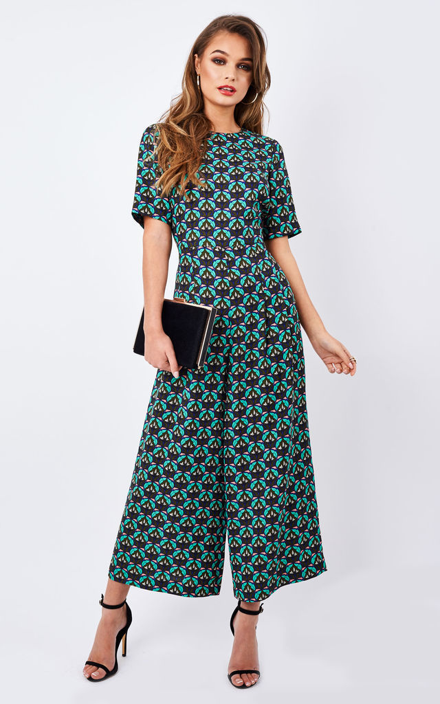Furious Fanfare - Bianca Jumpsuit (green) by Traffic People