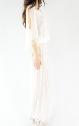 The Day Dreamer Maxi - White by House of Dharma