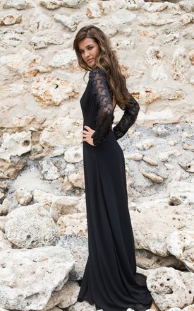 The Wanderlust V Maxi - Black by House of Dharma