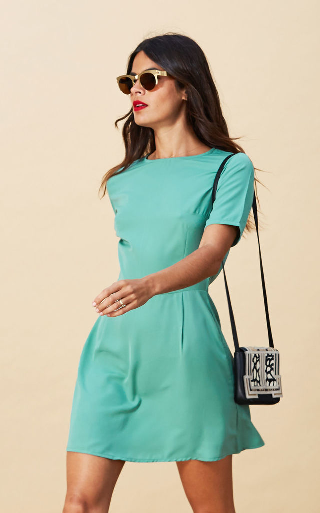 Piper Dress in Hemlock Green image