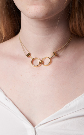 Forever Linked Choker Gold by DOSE of ROSE