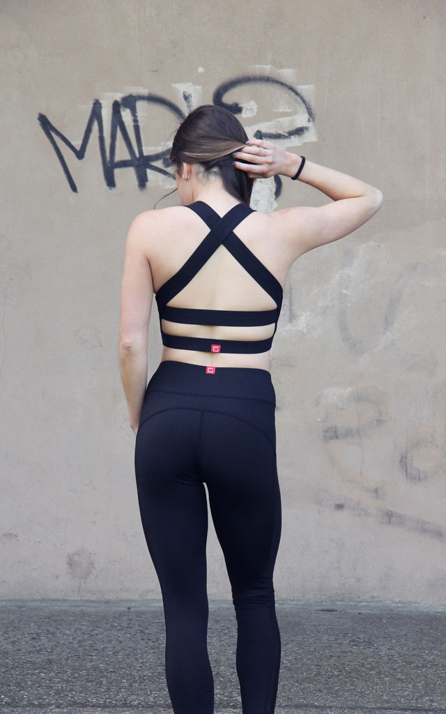 Cross-Back Sports Bra by Girls Represent