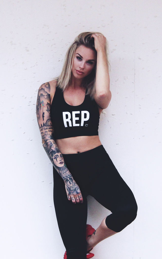 'REP' Sports Bra by Girls Represent