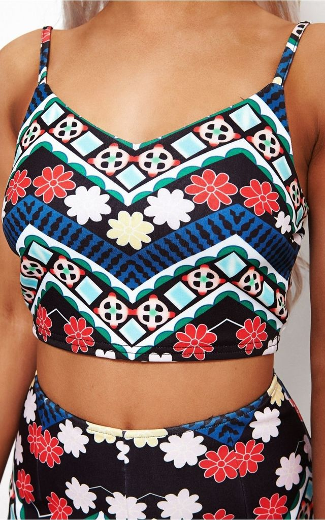 Olivia Black Aztec Co-Ord by The Fashion Bible