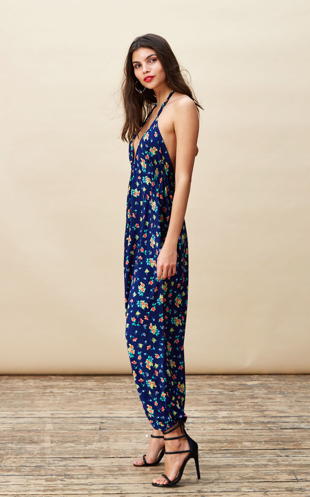 Genie Jumpsuit in Navy Ditzy image