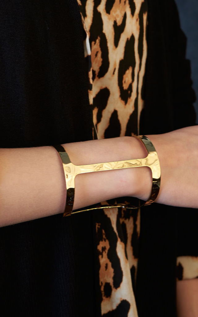 Statement Gold Cuff by DOSE of ROSE