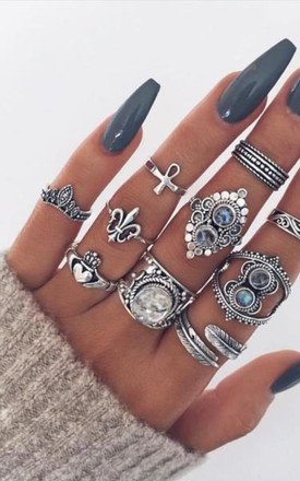Ankh Midi Ring by Indigo Lune