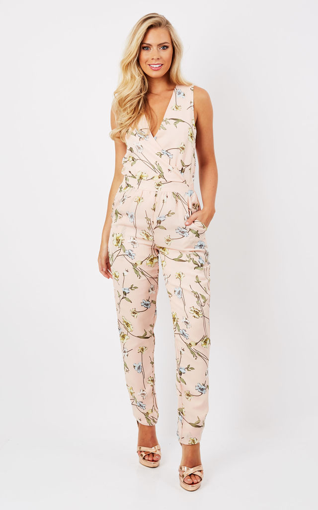 FLORAL JUMPSUIT by Madam Rage