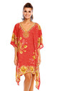 New ProductLadies Oversized Kimono Kaftan Tunic Kaftan Dress by Looking Glam
