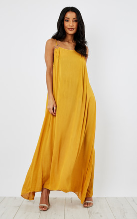 Grecian O Ring Maxi Dress by Oeuvre Product photo