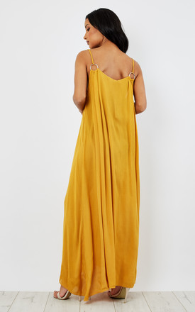 Grecian O-Ring Maxi Dress by Oeuvre
