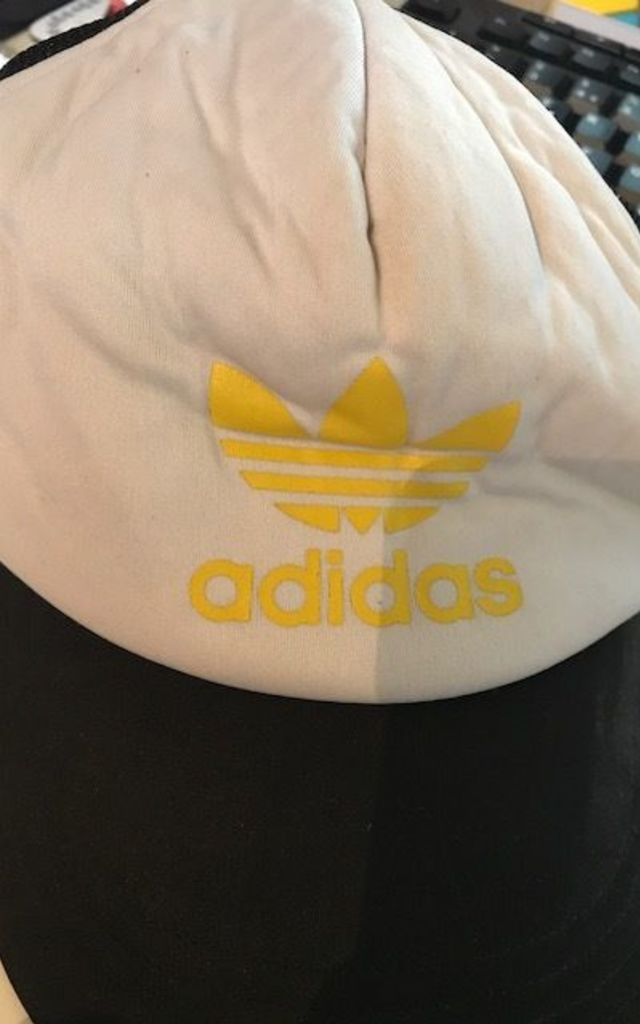 Vintage Adidas Logo Front Mesh Detail Snapback Baseball Cap by Re:dream Vintage